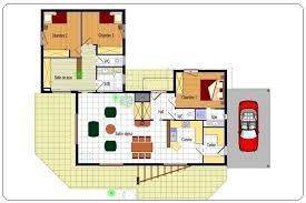 plan maison contemporaine plain pied 3 chambres plan maison contemporaine plain pied 3 chambres avie home
