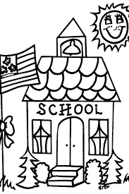 house coloring download free printable coloring pages