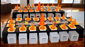construction party supplies lego party themed decorating ideas