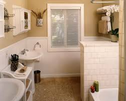 wainscot height in bathroom amys office