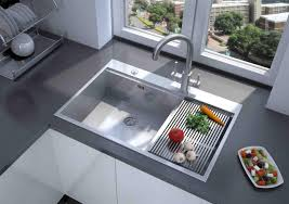 awesome stainless kitchen sink for elegant kitchen fixtures beside