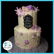 winter wonderland baby shower cake blue sheep bake shop