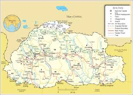 Define Political Map Maps Of Bhutan Bizbilla Com