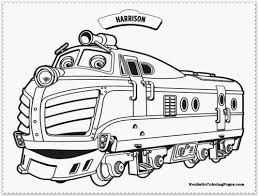 chuggington coloring pages coloring page