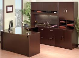 Desk U Shaped Extraordinary U Shaped Office Desk With Hutch For Home Interior