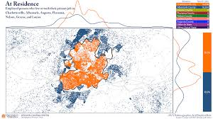 Map Of Charlottesville Va Visualizing Commuter Flows In The Charlottesville Area Statchat