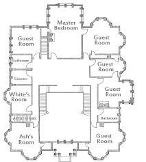 clue mansion floor plan theartofmurder com clue second floor for the little purple