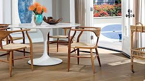 Design Of Wooden Chairs Beach House Dining Rooms Coastal Living