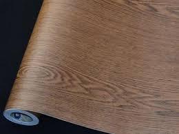 wood grain dw06 teak color waterproof kitchen home decor pvc