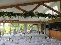 wedding ceiling draping beam decoration flower garland barn wedding ceiling draping