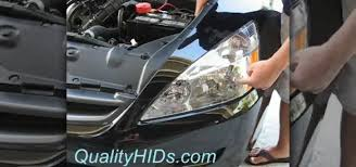 2004 honda accord headlights how to install hid xenon headlight bulbs in a honda accord car