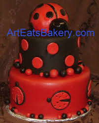 ladybug baby shower cakes pictures baby wall