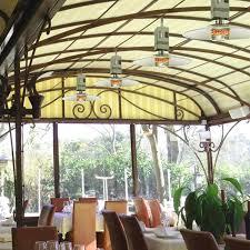 parasol patio heater hanging gas patio heater spider by italkero