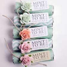Wedding Favors Uk by Mint Wedding Favors Set Of 24 Mint Rolls Mint To Be Favors