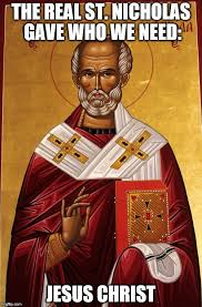 St Nicholas Meme - on the night before st nicholas concordia and koinonia