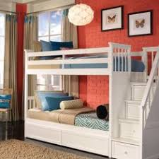 Bunk Bed With Stairs And Drawers Gray Bunk Beds With Stairs Storage Drawers And Under Bed Storage