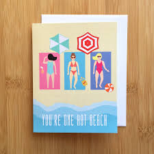 one card punny birthday card punny card