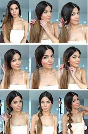 hair tutorial twist ponytail hairstyle tutorial side ponytail hair styles for