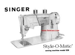 singer 328 instruction manual