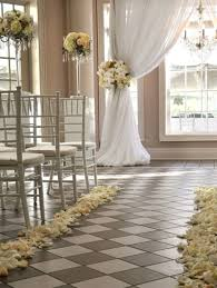 aisle decorations for indoor weddings 7368