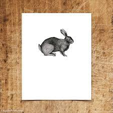 rabbit prints vintage rabbit 8x10 wall print dictionary