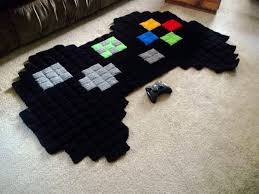 giant 8 bit xbox controller rug 55 00 via etsy i know what