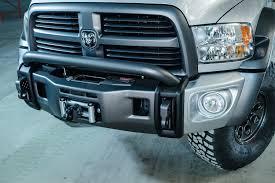 nissan frontier winch bumper aev debuts ram concept truck at sema show 2013 diesel power magazine