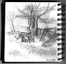 beautiful sketches of nature drawing of sketch