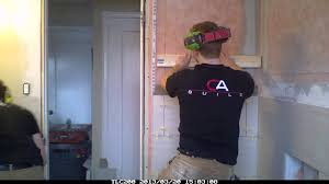 12x24 Tile Bathroom 12x24 Tile Linear Style Bathroom Reno Timelapse Youtube