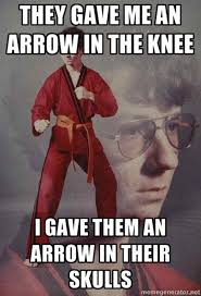Funk Meme - image 210686 i took an arrow in the knee know your meme