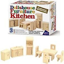 Dollhouse Furniture Kitchen Great Gizmos Wooden Dollhouse Furniture Kitchen Buy Online In