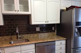 kitchen traditional frosted white glass subway tiles kitchen