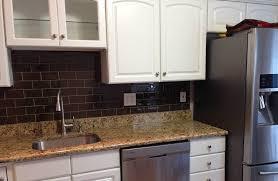 Black Subway Tile Kitchen Backsplash Kitchen Innovative White Connaught Subway Tiles Kitchen Great