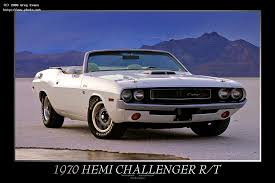 Seeking Rt Dodge Challenger Hemi R T On The Bonneville Salt Flats