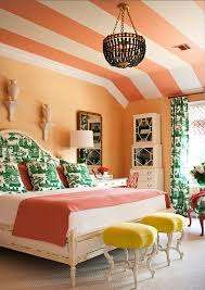 Berger Home Decor Matte Orange Accents For Your Bedroom Bold Decor Ideas With