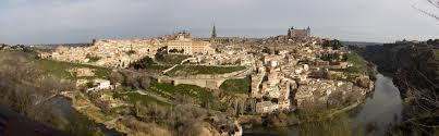 Toledo Spain Map by Panorama Of Toledo Spain Brandon Cardwell