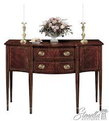 amazon com henkel harris model 2356 inlaid mahogany federal