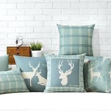 deer home decor winter throw pillows fashion ice world home decor pillow winter