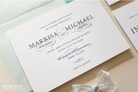 black tie wedding invitations wedding invitation wording black tie optional awesome classic