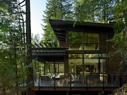 Home House Design Vancouver Side View Of Gambier Island Custom Home Modern Exterior