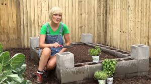 Raised Gardens You Can Make by Cement Block Raised Bed Burpee Garden Projects Youtube