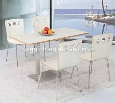 restaurant dining table with attached chair restaurant dining