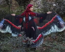 Blue Butterfly Halloween Costume Blue Butterfly Cape Wings Costume Buckeye Butterfly
