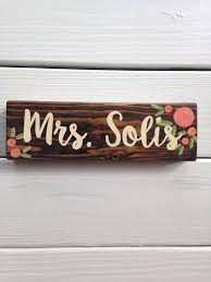 Desk Name Plates Wood Best 25 Teacher Name Signs Ideas On Pinterest Teacher Name