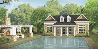 house review outdoor living spaces professional builder house review pool houses cabanas professional builder