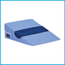 bed wedge pillow with half roll cutout versatile and affordable
