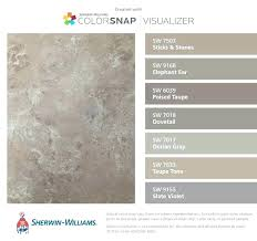sherwin williams taupe sw dorian gray taupe colors i found these colors with visualizer for