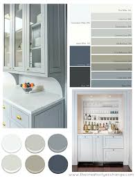 what paint color goes best with gray kitchen cabinets most popular cabinet paint colors
