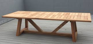 western dining room furniture hand made western red cedar outdoor dining table by dereva