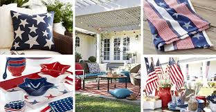 patriotic decor patriotic home decor 50 american flag inspired home goods